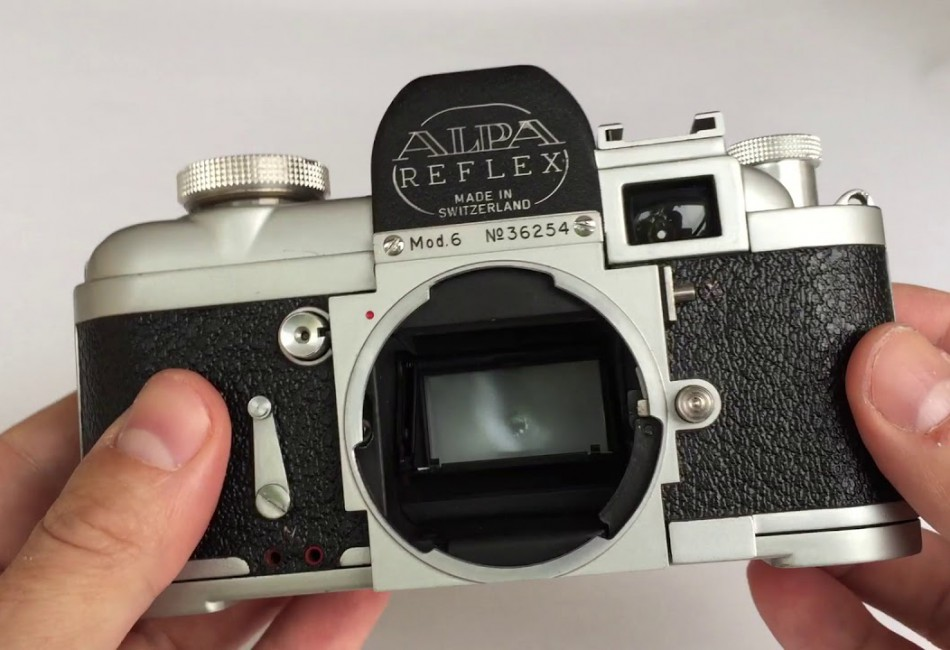 ALPA Reflex Model 9D with Kern Macro Switar 1.8/50 lens